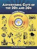 Advertising Cuts of the 20s & 30s With CDROM