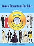 American Presidents & First Ladies With CDROM