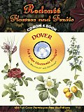 Redout Flowers & Fruits Cdrom & Book