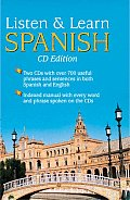 Listen & Learn Spanish with 80 Page Spanish Manual