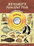 Renard's Fanciful Fish [With CDROM, Full Color Electronic Designs]