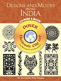 Designs & Motifs from India With CD ROM for Macintosh & Windows