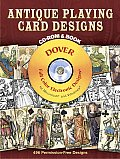 Antique Playing Card Designs Cdrom & Book