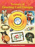 Treasury of Greeting Card Designs [With CDROM]