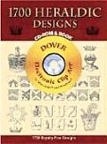 1,000 Heraldic Designs CD-ROM and Book Cover