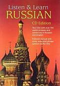 Listen & Learn Russian [With 66-Page Book]