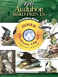 120 Audubon Bird Prints CD-ROM and Book (Full-Color Electronic Design) Cover