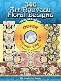 356 Art Nouveau Floral Designs
