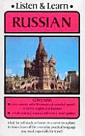 Listen &amp; Learn Russian with Book Cover