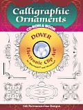 Calligraphic Ornaments CD-ROM and Book with CDROM