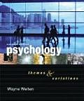 Psychology: Themes and Variations (with Concept Charts) with Other