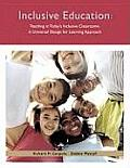 Teaching in Today's Inclusive Classrooms: a Universal Design for Learning Approach (10 - Old Edition)