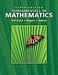 Fundamentals of Mathematics 9th Edition