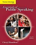 Advantage Series-essentials of Public Speaking (4TH 09 - Old Edition) Cover