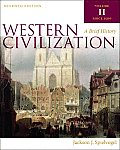 Western Civilization : a Brief History, Volume II (7TH 11 - Old Edition)