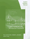 Differential Equations-student Solution Manual (4TH 12 Edition)