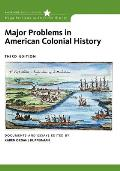 Major Problems in American Colonial History (Major Problems in American History) Cover