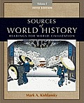 Sources Of World History Volume I