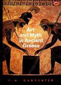 Art and Myth in Ancient Greece: A Handbook (World of Art) Cover