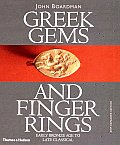 Greek Gems and Finger Rings:...
