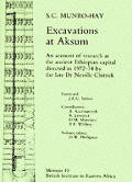 Excavations At Aksum An Account Of Resea