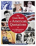 Giant Book of American Quotations Over 8000 Quotations on 264 Subjects