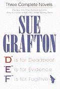 Sue Grafton 3 Complete Novels D E F