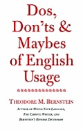 Dos Donts & Maybes Of English Usage