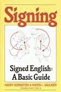 Signing Signed English a Basic Guide Cover