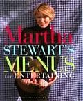 Martha Stewarts Menus For Entertaining