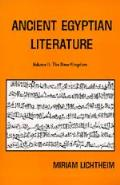 Ancient Egyptian Literature, Vol. 2: The New Kingdom