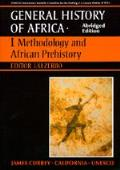 UNESCO General History of Africa Volume 1 Abridged Edition Methodology & African Prehistory