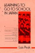 Learning to Go to School in Japan