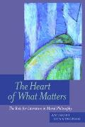 The Heart of What Matters: The Role for Literature in Moral Philosophy Cover