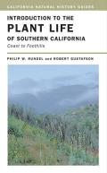 California Natural History Guides #86: Introduction to the Plant Life of Southern California: Coast to Foothills Cover