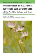 Introduction to California Spring Wildflowers of the Foothills, Valleys, and Coast Cover