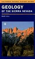California Natural History Guides #80: Geology of the Sierra Nevada: Cover