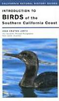 California Natural History Guides #84: Introduction to Birds of the Southern California Coast Cover