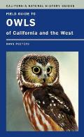 Field Guide to Owls of California and the West Cover