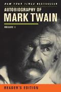 Autobiography of Mark Twain, Volume 1 (Mark Twain Papers) Cover