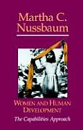 Women and Human Development (00 Edition)