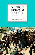 A Concise History of Greece (Cambridge Concise Histories) Cover