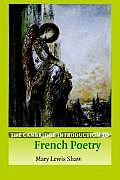The Cambridge Introduction to French Poetry Cover