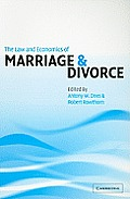 The Law and Economics of Marriage...