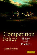 Competition Policy : Theory and Practice (04 Edition)