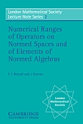 Numerical Ranges of Operators on Normed Spaces & of Elements of Normed Algebras