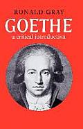 Goethe: A Critical Introduction