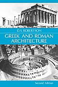 Greek & Roman Architecture 2ND Edition Cover