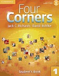 Four Corners Level 1 Students Book With Self Study Cd Rom