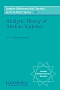 London Mathematical Society Lecture Note Series #14: Analytic Theory of Abelian Varieties Cover